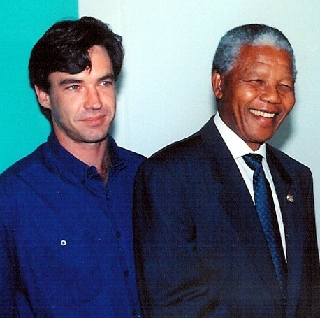 Dr Wright With Nelson mandela